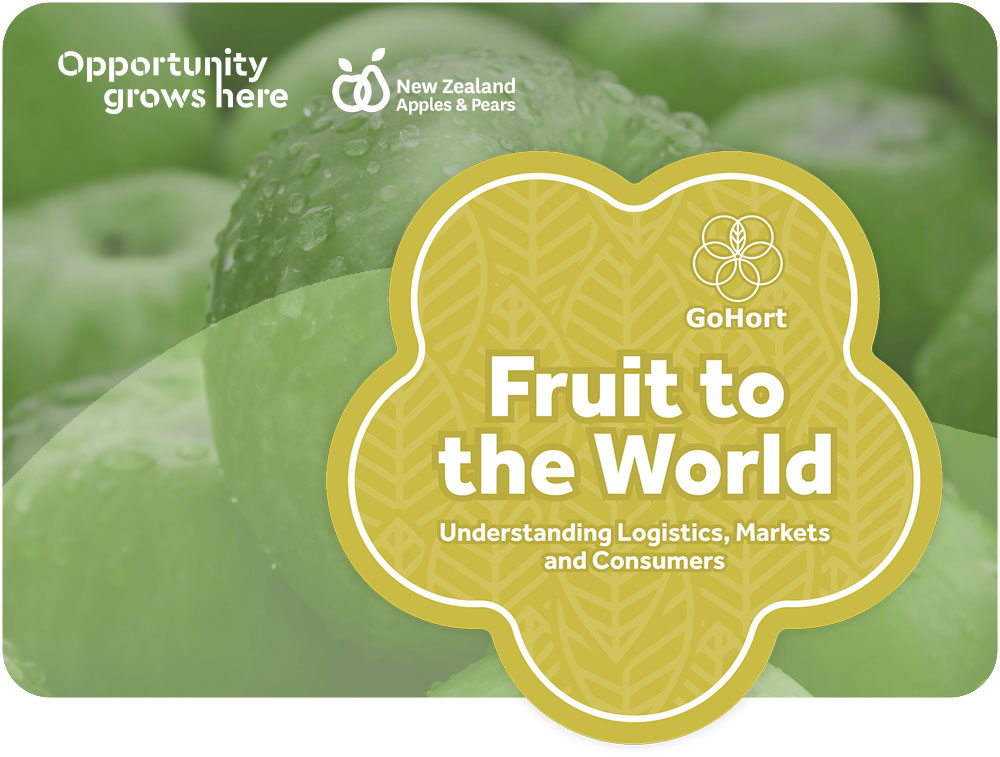 Fruit to the world course banner