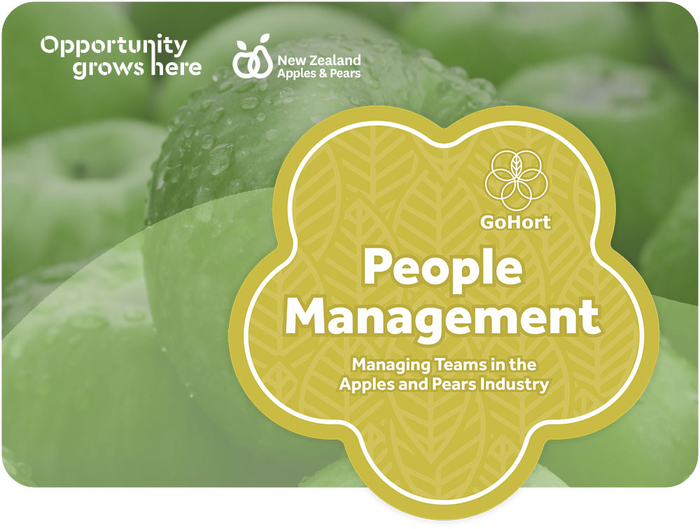 People Management course banner