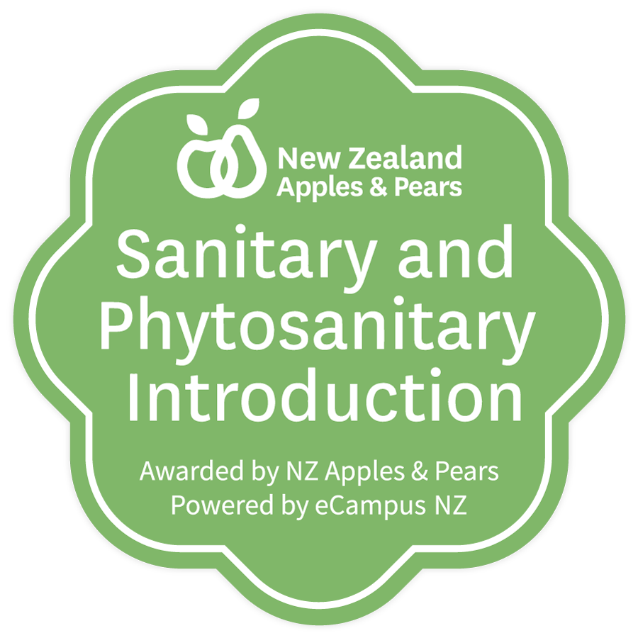 Phytosanitary MC Badge